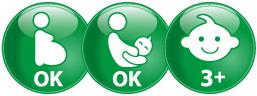 ikony pre koho je Antimetil vhodný, pre dospelých, deti vo veku od 3 rokov, tehotné ženy od začiatku tehotenstva
